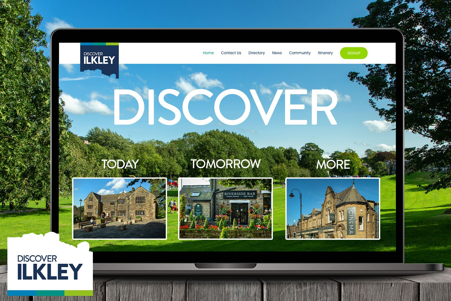 A new digital website for Ilkley